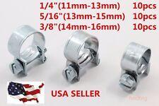 "FUEL INJECTION HOSE CLAMP / AUTO Fuel clamps 30PCS(1/4"", 5/16"", 3/8"")"