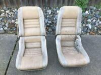 Corvette C3 Buckets seats / RARE!