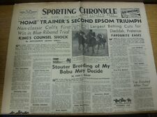 23/04/1948 Sporting Chronicle & Athletic News: No.22100 - titre principal (s): 'hom