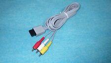 Wii WiiU    Stereo AV Cable  Nintendo Original  [ RVL-009 ]