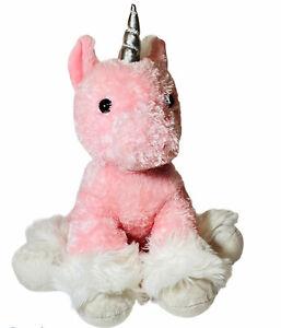 "Aurora Fantasy 12"" Dreaming Of You Unicorn Pink Small Plush Stuffed Animal Toy"