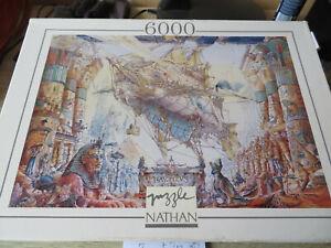 puzzle nathan nautilus 6 000 pièces rare