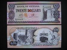 GUYANA  20 Dollars 1996  (P30e)  UNC