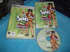 L'Università di The Sims 2 Espansione Pacchetto Apple Mac v.g.c. POST VELOCE COMPLETO