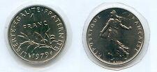 Gertbrolen*  1 Franc Semeuse Nickel 1979 Provient d' une série Fleur de Coin