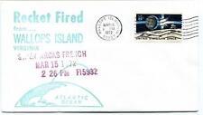 1972 Wallops Island ROCKET FIRED Super Arcas French FI5932 WFF Goddard Base NASA