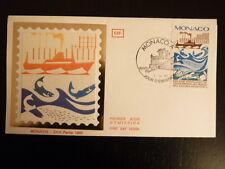 MONACO PREMIER JOUR FDC YVERT  1499   LA PECHE    2,20F   MONACO  1985