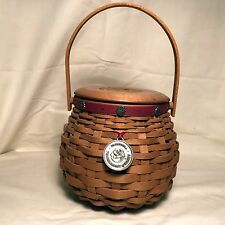 """Longaberger Tournament of Roses 2004 """"Let Me Call You Sweetheart"""" Basket Combo"""