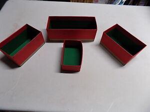 A C Gilbert Erector Set 1928 No 8. Parts Boxes-Repro