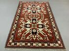 Old Azeri Rug 170x110 cm country home Tribal vintage caucasian eagle carpet