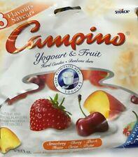 CAMPINO YOGOURT & FRUIT - 120g x4 BAGS - 3 FLAVOURS HARD CANDIES