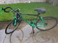 "Kent 700 RoadTech Bicycle Frame Med. 26"" Wheels Bike Green/Black (Read) #5"