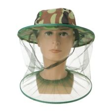 Beekeeping Mesh Net Veil Beekeepers Bee Honey Hat Cap Head Face Protector