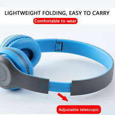 New listing Wireless Bluetooth Headphones Bass Foldable Over Head Stereo Earphones Headsets