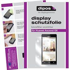 1x dipos Huawei Ascend G6 Film de protection d'écran protecteur cristal clair