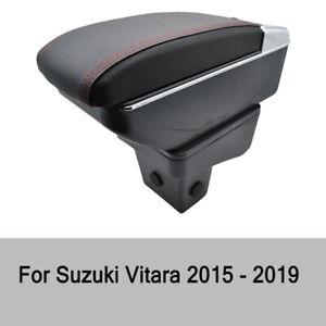 Armrest Arm Rest Ashtray For Suzuki Vitara 2015 - 2019 Storage Box Cup Holder