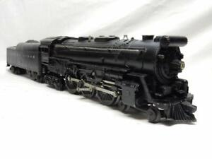 POSTWAR LIONEL 2065 HUDSON STEAM LOCO & 2046W TENDER, C-7 EX, RUNS FINE, NO RSV