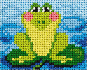 Orchidea Frog Embroidery Kit