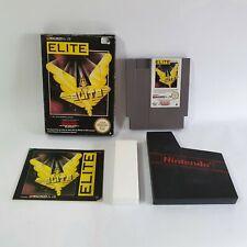Elite NES Nintendo Entertainment System Game PAL UK Boxed & Complete
