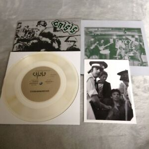 "Crisis - Alienation 7"" 500 (Punk/UK Subs/Crass/Damned/Discharge/GBH/Blitz/SLF)"