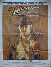 INDIANA JONES AVENTURIER DE L'ARCHE PERDUE Affiche Cinéma Movie Poster SPIELBERG