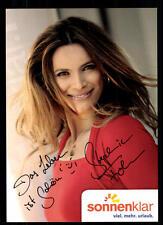 Stephanie Frohmann Sonnenklar TV Autogrammkarte Original Signiert ## BC 52432