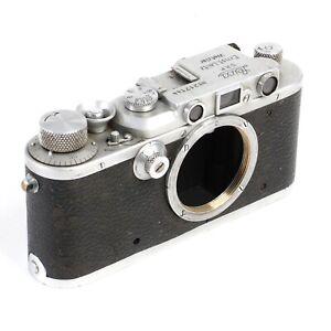 :Leica Leitz IIIa 35mm Rangefinder Camera Body - 1936 - #217144 - Fully Working!