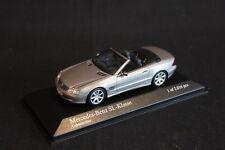 Minichamps Mercedes-Benz SL-KLasse 2003 1:43 Cubanitsilber Metallic (JS)