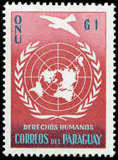 Scott # 565 - 1960 - ' UN Declaration of Human Rights '