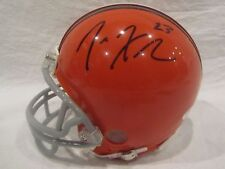 Joe Haden Autographed Cleveland Browns Mini Helmet - JSA Cert