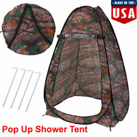 Toilet Shower Changing Beach Camping Tent Room Portable Pop Up Private Travel US