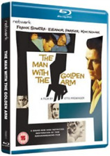 Darren McGavin, John Conte-Man With the Golden Arm (UK IMPORT) Blu-ray NEW