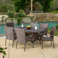 Barney 7 Piece Dining Set Whether you are entertaining guests or just Outdoors