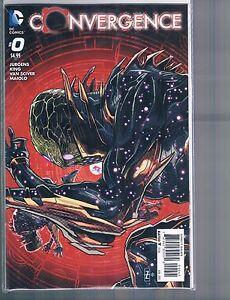 Convergence #0 Patrick Zircher Variant Cover DC Comics New 52 2015
