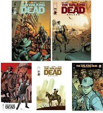 Walking Dead Deluxe #2 A B C D E Set Kirkman Finch Blank Tedesco presale 11/4