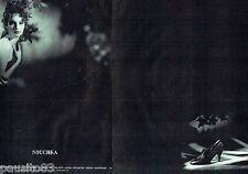 PUBLICITE ADVERTISING 116  1988  les chaussures femme Nouchka (2p)