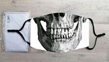 Skull face mask (Horror, Halloween)