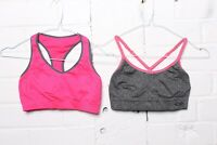 Champion Womens Sports Bra X2 Racer Back and Cross Back XS Extra Small (L-Bx5)