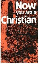 Now You Are a Christian - Lot of 5 Evangelical Christian Leaflets - NEW