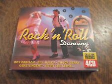 coffret 4 cd rock'n'roll dancing collection tresors
