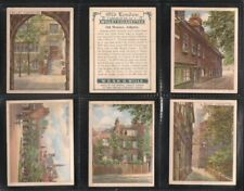 Wills, OLD LONDON, Near Full Set L21/25, Very Good, 1929