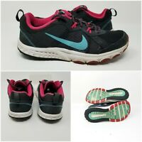 Nike Wild Trail 643074-001 Black Pink Running Shoes Sneakers Womens Size 8