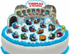 Cakeshop PRE-CUT Thomas the Tank Engine & Friends Edible Cake Scene - 22 pieces