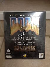 Ultimate Doom (PC, 1995) Big Box - Factory Sealed! Ultra Rare!