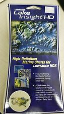 Lowrance Lake Insight HD Marine Charts for Entire USA Map on SD card