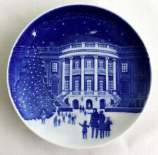 Bing & Grondahl Christmas at the White House Porcelain Plate 1987