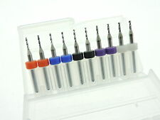 1.15mm 1.25mm 1.35mm 1.45mm 1.55mm Mixed Tungsten Carbide Micro Drill Bits
