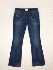 Hudson Jeans 26 Signature Flap Pocket Bootcut Felix Wash Denim Distressed Read