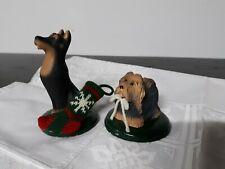BYERS CHOICE DOG ~ SHIH TZU or YORKIE & COLLIE