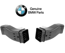 NEW BMW E30 Pair Set of Left & Right Air Duct Spoilers to Splash Panel Genuine